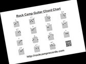 Rock Camp Chord Chart - Buy One Get One FREE photo