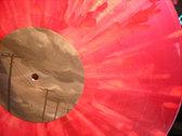 Transparent Red w/ White Splatter photo