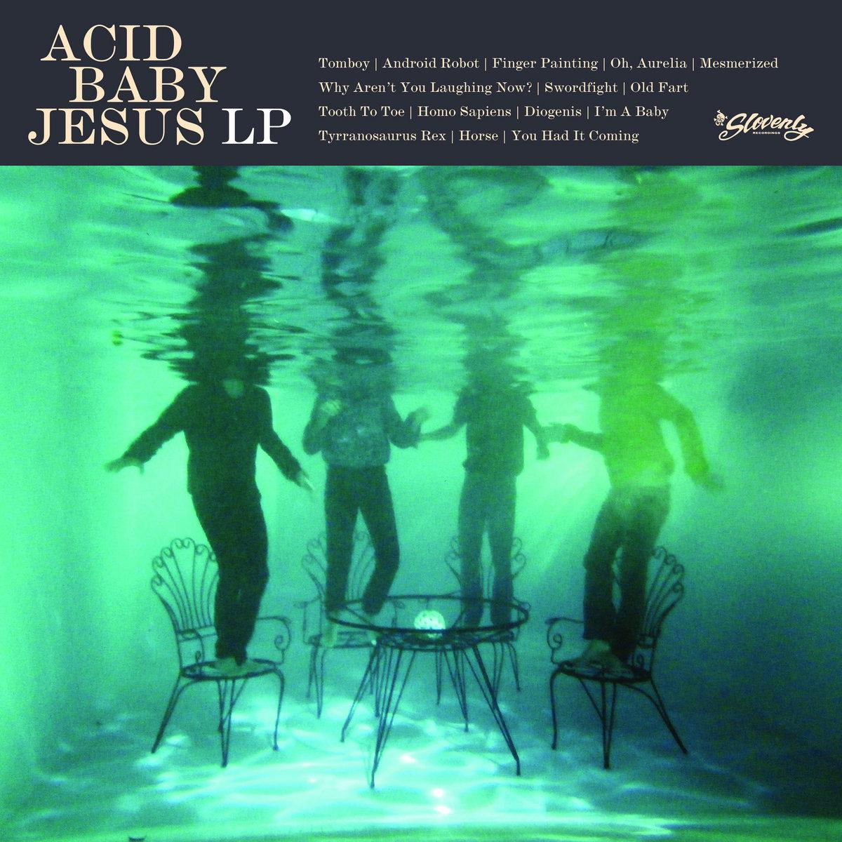 ACID BABY JESUS self-titled LP | Slovenly Recordings