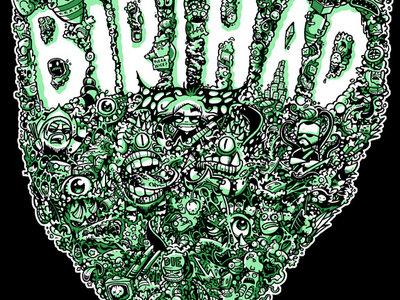 """Birth A.D. """"Brains"""" shirt and girl tee! main photo"""