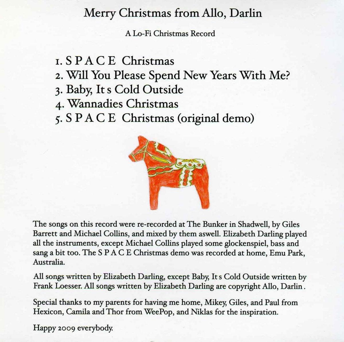 Merry Christmas from Allo Darlin\' EP | Allo Darlin\'