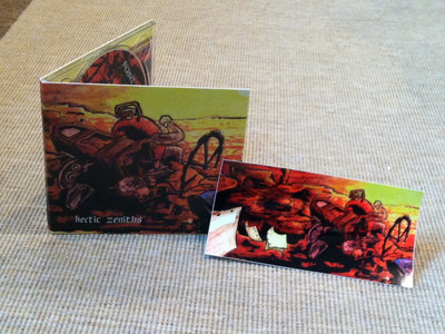 hectic zeniths Digipak package main photo