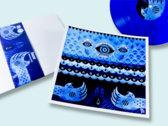"GEEZER ""Deepwater Blackout"" limited  vinyl set w/ additional art print  by Niark photo"