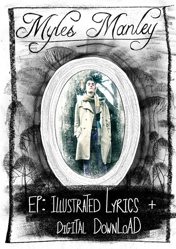 Illustrated Lyric Book | Myles Manley