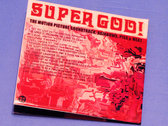 SUPERGOD! The Motion Picture Soundtrack - CD Package photo