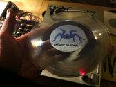 """7' transparent 45T Vinyls - Freadz """"Kazamix do Brazil"""" photo"""