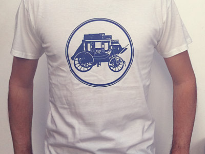 Sue Ray Carriage T-Shirt - White main photo