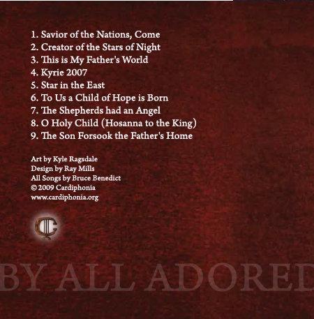 Savior of the Nations, Come   Cardiphonia Music