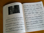 Book of Leaves Sheet Music Book photo