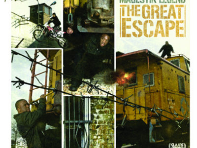 "Magestik Legend - The Great Escape LP ""Compact Disc"" main photo"