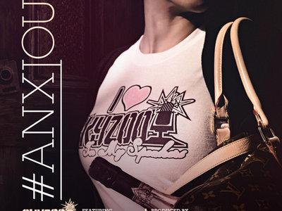"#ANXIOUS - Limited Edition: ""I Heart Skyzoo"" Ladies Tee main photo"