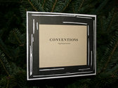 Hand Printed Conventions Picture Frame photo