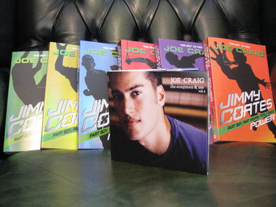 Full set of SEVEN signed JIMMY COATES books, plus LIFTERS (also signed), AND free download of the album! main photo