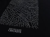 CRICKETS T-SHIRTS (BLACK) photo