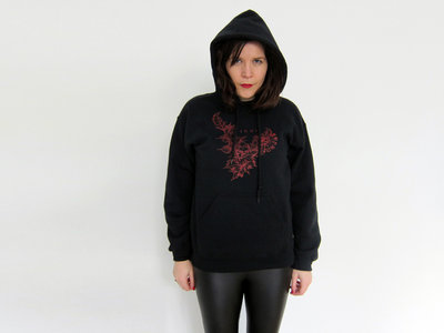 """// Hoodie (""""Burn Edition"""", including 13 tracks download + buttons) (€25.00 EUR) main photo"""