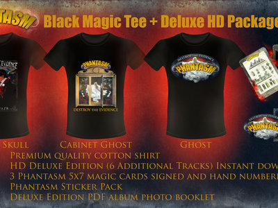 Black Magic Tee + Deluxe HD Package main photo