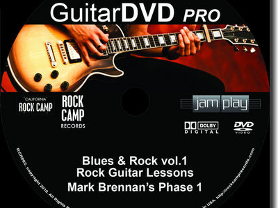 GuitarDVD Pro Blues & Rock 3Pak vol.1 main photo