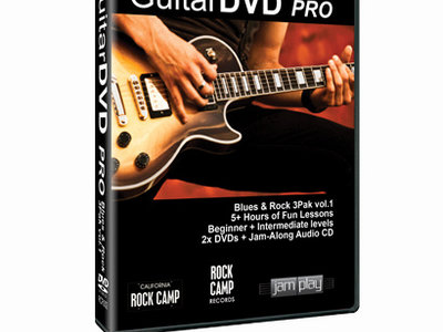 GuitarDVD Pro 3 Pak Blues & Rock vol.1 main photo