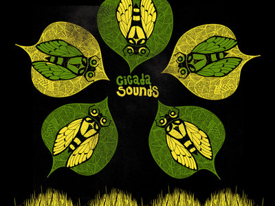 Cicada Sounds Limited Edition Screen Print (includes digital download) main photo