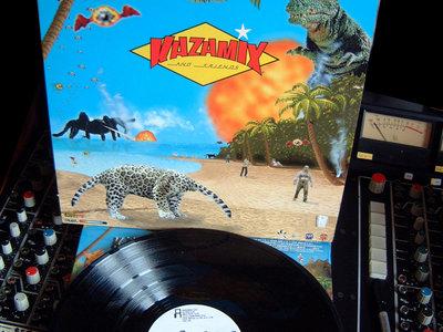 "33T Vinyl Album ""Kazamix and Friends"" main photo"
