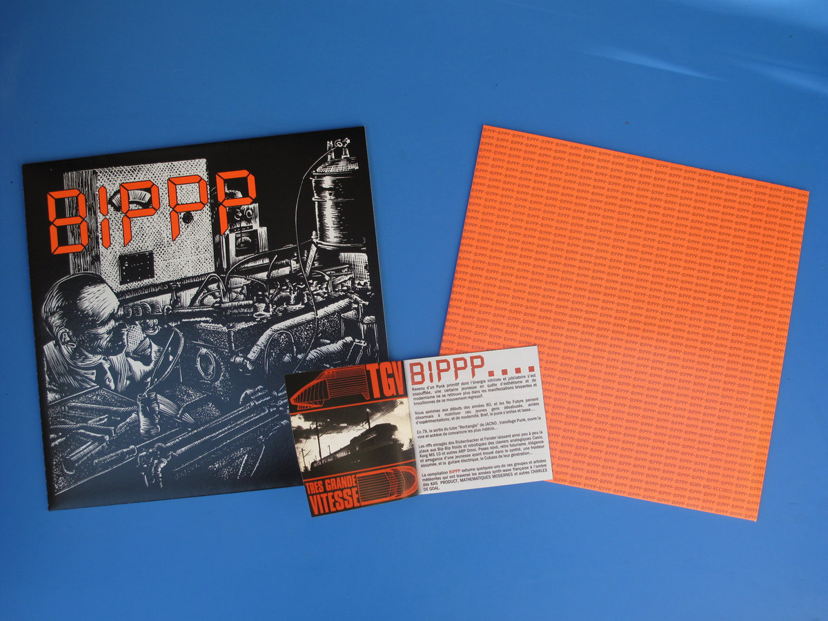 BIPPP : French Synth-Wave 1979/85   Born Bad Records