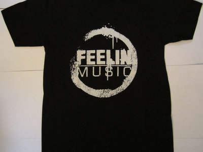 FEELIN' MUSIC T-SHIRTS (BLACK) main photo