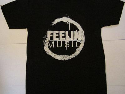 FEELIN' MUSIC T-SHIRTS (BLACK) main photo