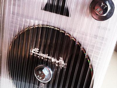 Double Carbon CD - Vinyl Look - PERSPEX/BOLT BOX! main photo