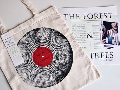 Woodstock-LP Tote bag-version (SOLD OUT!) main photo