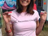 Crys T Recordiau Lliwgar T Shirt photo