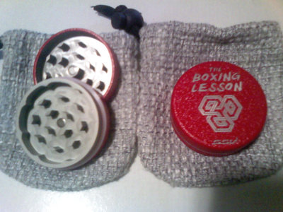 The Boxing Lesson/SSV Branded Red-Metallic Grinder w/ Digital Download (SOLD OUT) main photo