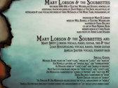 "Mary Lorson and the Soubrettes: ""BurnBabyBurn"" photo"
