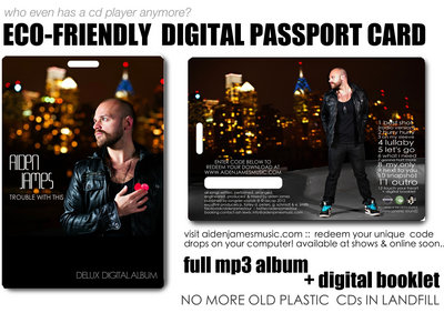 """Signed """"Limited Edition"""" Deluxe Digital Download Passport Card main photo"""