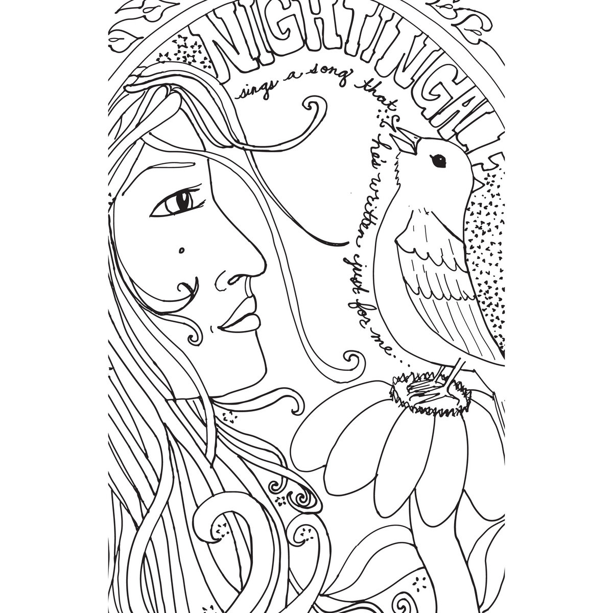Make Believe Coloring Book Photo