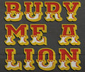 Bury Me A Lion image