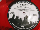 "THE CITY THAT BLEEDS / I RISE Ltd. Ed. 7"" photo"