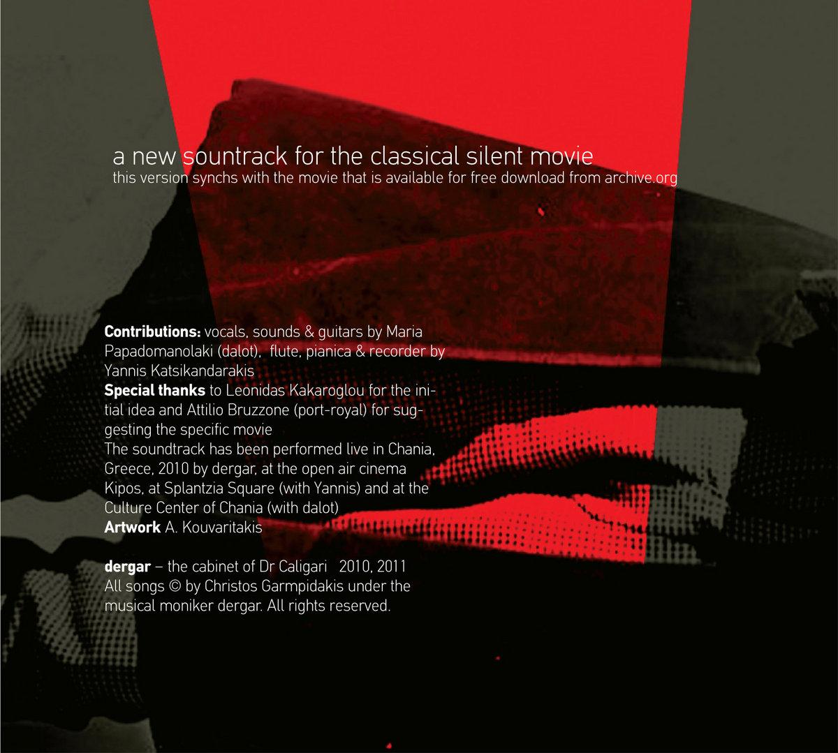 the cabinet of dr Caligari | dergar