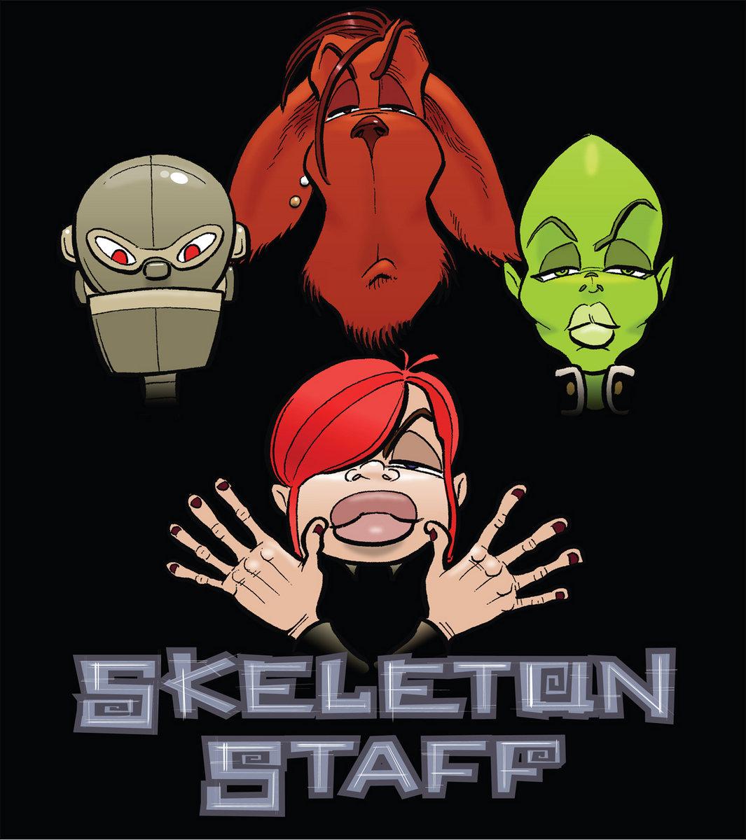 Music Skeleton Staff