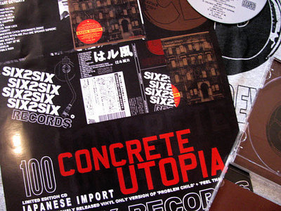 CONCRETE UTOPIA Ltd.Ed. IMPORTED 11X17 POSTER main photo