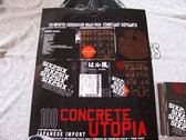CONCRETE UTOPIA Ltd.Ed. IMPORTED 11X17 POSTER photo