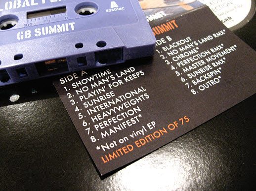 G8 SUMMIT' EP (PREVIEW) MIXED BY DEBONAIR P | SIX2SIX RECORDS