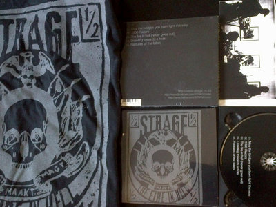 'The Fire in Hell' limited edition digipak CD + t-shirt combo main photo