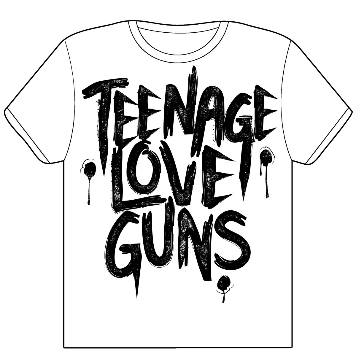 merchandise teenage love guns. Black Bedroom Furniture Sets. Home Design Ideas