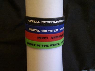 Static Distortion Artist Wristbands! main photo