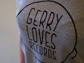 Gerry Loves Records Logo T-Shirt photo