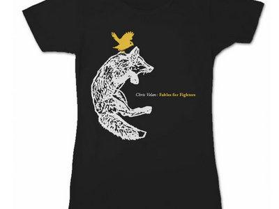 'Fox & Bird' T-Shirt [Ladies] main photo
