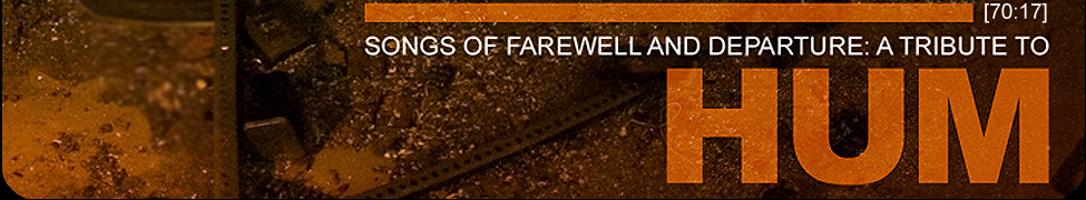songs of farewell and departure a tribute to hum hum tribute