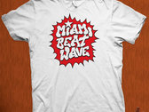 Miami Beat Wave T-Shirts & Tank Tops photo