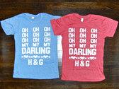 """Darling"" Tee BLUE photo"