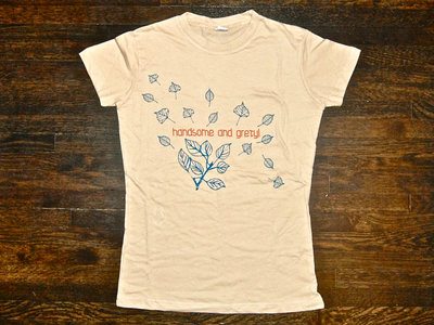 "Ladies ""Leaves"" Tee SAND main photo"